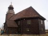 Drewniany kościół w Złotowie
