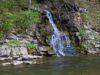 Wodospad pomiędzy Pszczelinami i Widełkami – Bieszczady