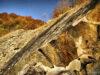 Stary kamieniołom koło Sękowca – Bieszczady