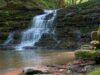Wodospad na potoku Wisłoczek