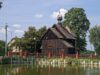 Drewniany kościół w Marcinkach
